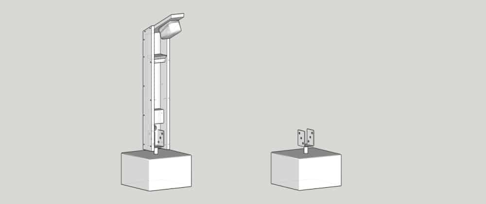 lampy na podjazd - podstawa
