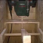 Stolik do frezarki górnowrzecionowej - mechanizm podoszenia