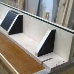 Stolik do frezarki górnowrzecionowej - konstrukcja culagi