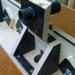 Stolik do frezarki górnowrzecionowej - odciąg wiórów