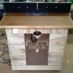 Stolik do frezarki górnowrzecionowej - gotowy stół